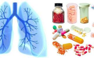 Таблетки от бронхита у взрослого — популярные препараты