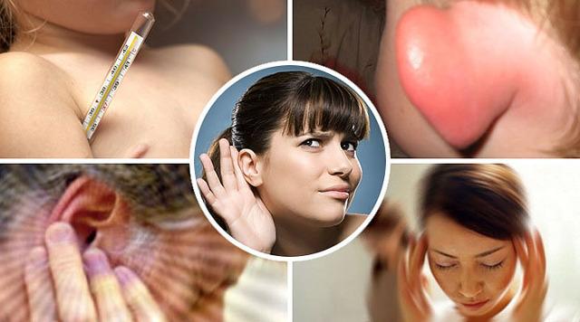 Течет из уха: гной, жидкость (прозрачная, желтая), сера - причины, лечение