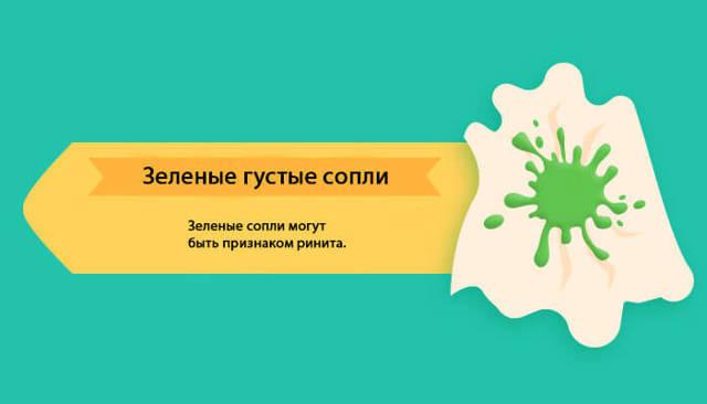 Выделения из носа: гнойные, желтые, зеленые, белые