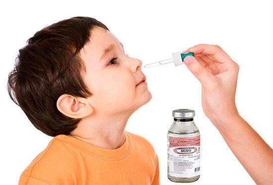 Аминокапроновая кислота в нос: принцип действия, показания, методы применения для детей и взрослых