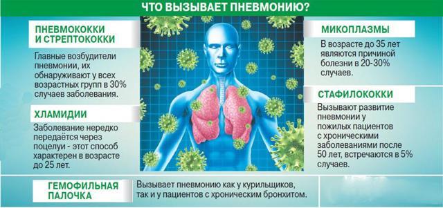 Пневмония: формы, как развивается, признаки, течение и как распознать, лечение