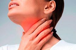 Режет горло: причины, этиологические факторы, клиника, лечение