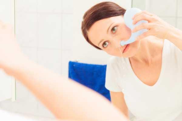 Промывание носа: растворы, средства, способы, правила