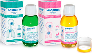 Флюдитек – от какого кашля помогает препарат, инструкция