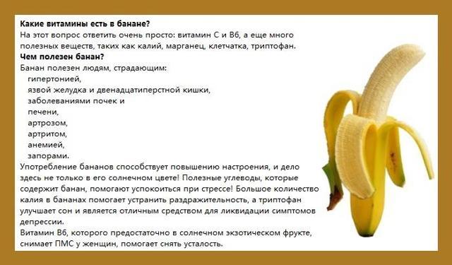 Банан от кашля – лучшие рецепты для взрослых, противопоказания