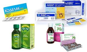 Отхаркивающие средства при сухом кашле для детей и взрослых