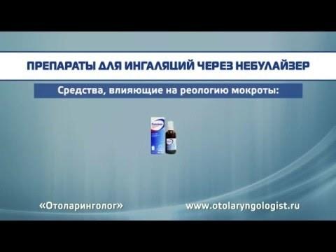 Беродуал при сухом кашле: состав и польза, ингаляции