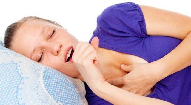 Кашель, когда ложишься спать у взрослого - причины, лечение