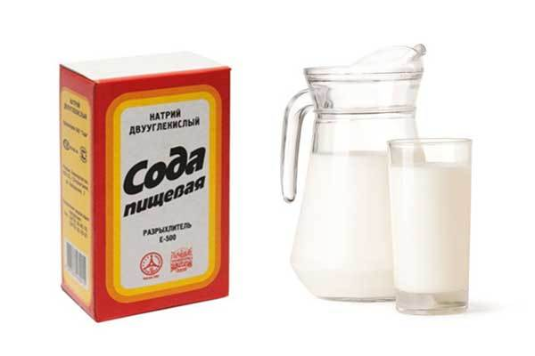 Молоко с содой от кашля - рецепты и противопоказания
