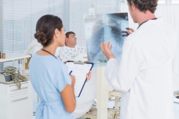 Левосторонняя пневмония – причины, симптомы, лечение